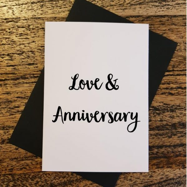 Love and Anniversary