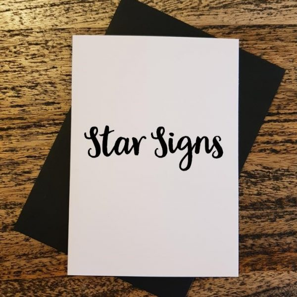 Star Sign Cards